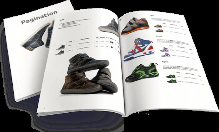 Interactive catalogs & lookbooks