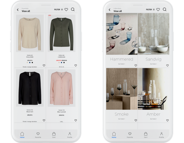 Your Shopify webshop as an app for both Android and iOS