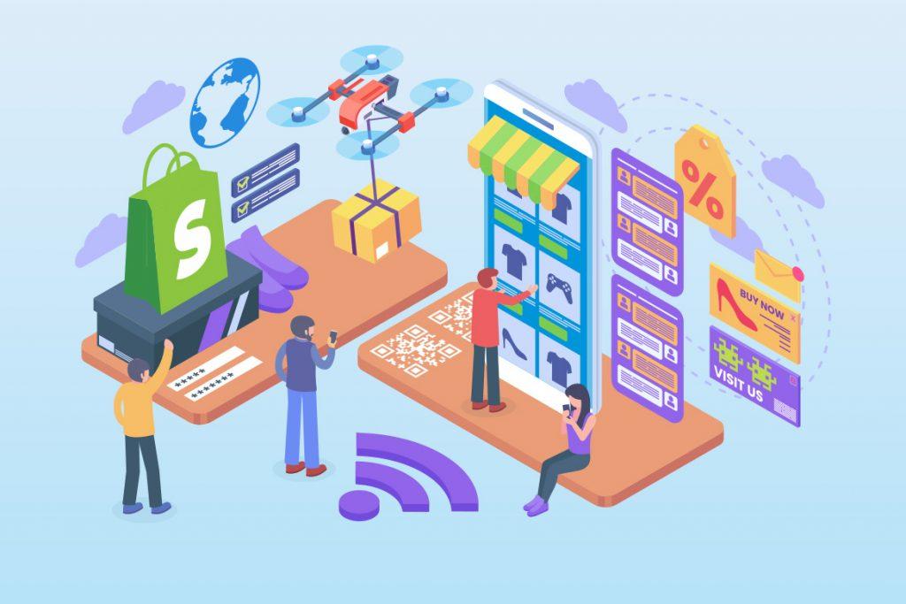 Integrer dit økonomisystem med Shopify